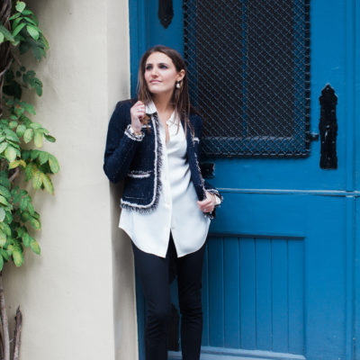 the [almost] Chanel blazer