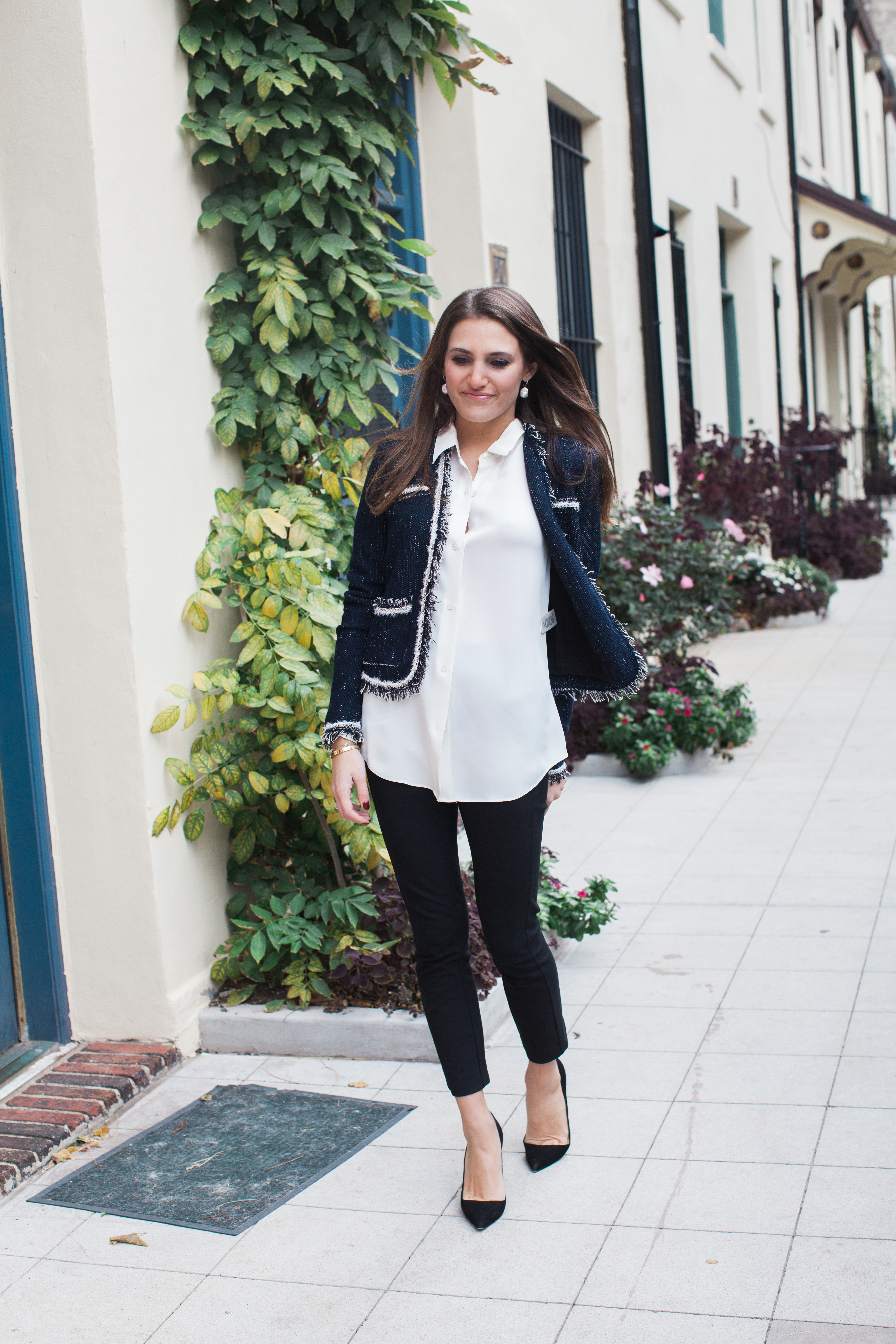 The Almost Chanel Blazer That Pencil Skirt