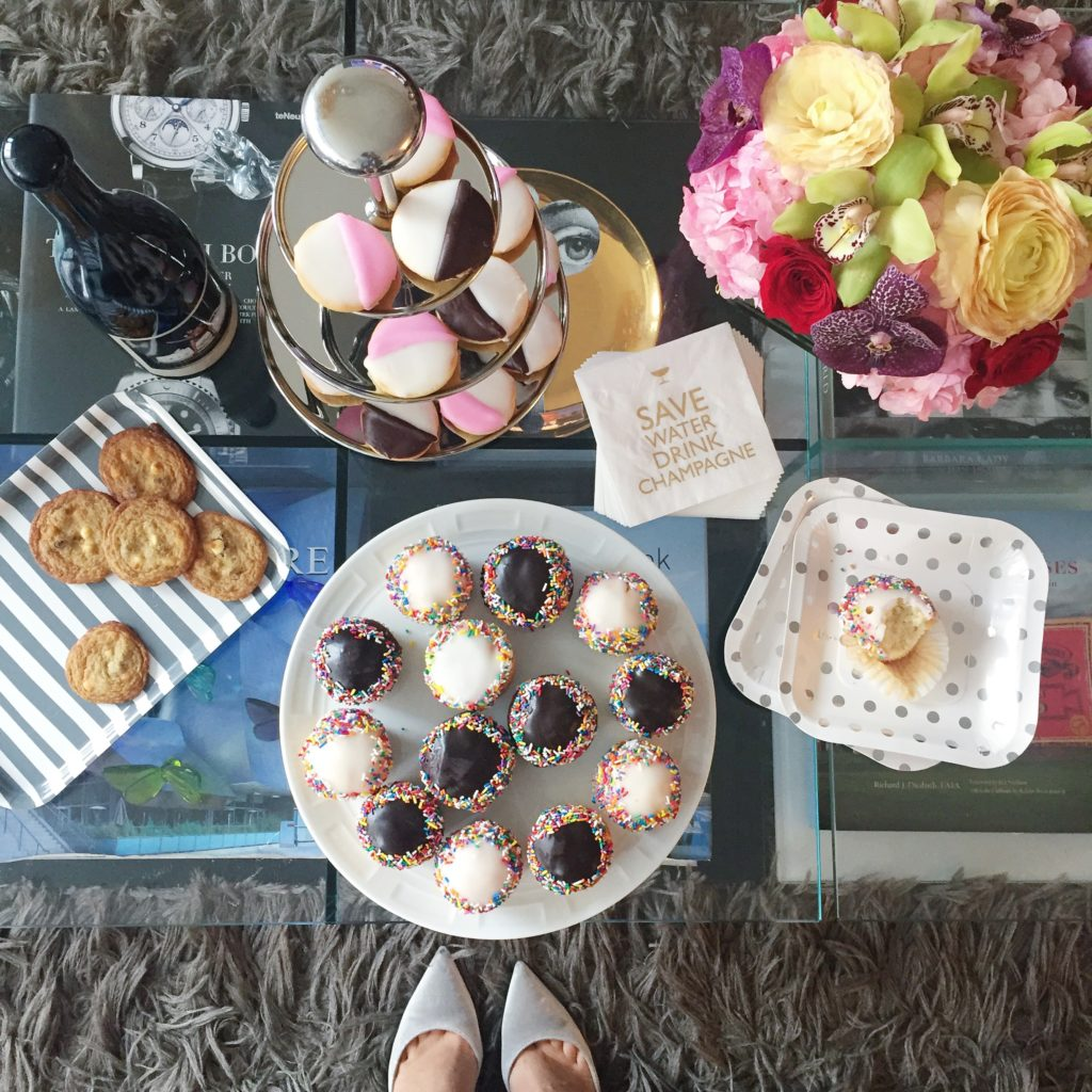 Lifestyle blogger ThatPencilSkirt hosts a drinks and dessert party