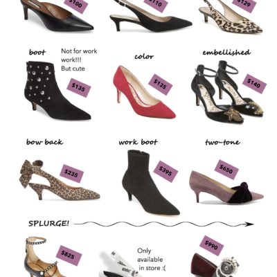 you need a pair of kitten heels this fall