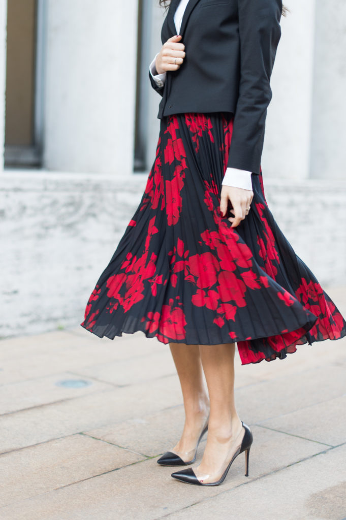 The $39 pleated midi skirt you have to have